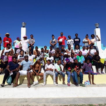 El-Theos drop in centre takes street children camping