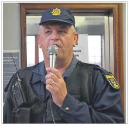 Report crime hotspots