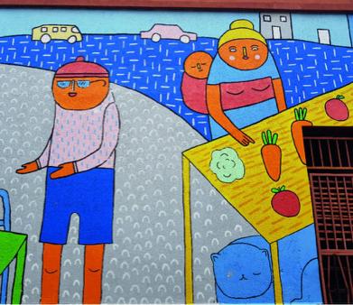 South Africa's talented street artists brighten up Voortrekker's street walls